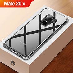 Cover Silicone Trasparente Ultra Sottile Morbida T03 per Huawei Mate 20 X Chiaro