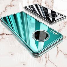 Cover Silicone Trasparente Ultra Sottile Morbida T03 per Huawei Mate 30 Pro 5G Chiaro
