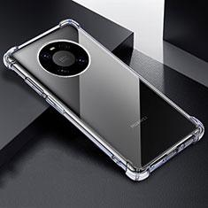 Cover Silicone Trasparente Ultra Sottile Morbida T03 per Huawei Mate 40 Pro Chiaro