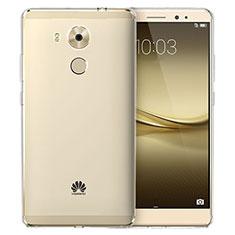 Cover Silicone Trasparente Ultra Sottile Morbida T03 per Huawei Mate 8 Chiaro