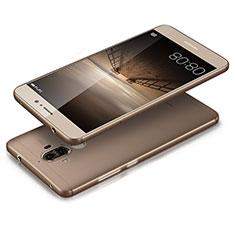 Cover Silicone Trasparente Ultra Sottile Morbida T03 per Huawei Mate 9 Grigio