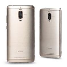 Cover Silicone Trasparente Ultra Sottile Morbida T03 per Huawei Mate 9 Pro Chiaro