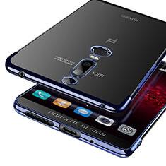 Cover Silicone Trasparente Ultra Sottile Morbida T03 per Huawei Mate RS Blu