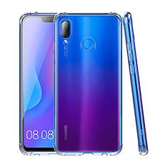 Cover Silicone Trasparente Ultra Sottile Morbida T03 per Huawei P Smart+ Plus Chiaro