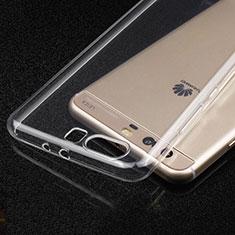 Cover Silicone Trasparente Ultra Sottile Morbida T03 per Huawei P10 Plus Chiaro