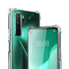 Cover Silicone Trasparente Ultra Sottile Morbida T03 per Huawei P40 Lite 5G Chiaro