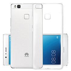 Cover Silicone Trasparente Ultra Sottile Morbida T03 per Huawei P9 Lite Chiaro