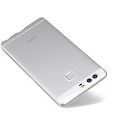 Cover Silicone Trasparente Ultra Sottile Morbida T03 per Huawei P9 Plus Chiaro