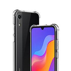 Cover Silicone Trasparente Ultra Sottile Morbida T03 per Huawei Y6 (2019) Chiaro