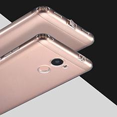 Cover Silicone Trasparente Ultra Sottile Morbida T03 per Huawei Y7 Prime Chiaro