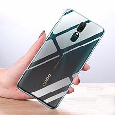 Cover Silicone Trasparente Ultra Sottile Morbida T03 per Oppo A9X Chiaro