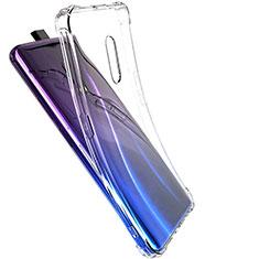 Cover Silicone Trasparente Ultra Sottile Morbida T03 per Oppo Realme X Chiaro