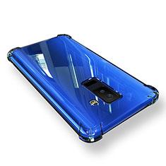 Cover Silicone Trasparente Ultra Sottile Morbida T03 per Samsung Galaxy A6 Plus (2018) Chiaro