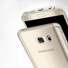 Cover Silicone Trasparente Ultra Sottile Morbida T03 per Samsung Galaxy Note 5 N9200 N920 N920F Chiaro
