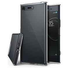 Cover Silicone Trasparente Ultra Sottile Morbida T03 per Sony Xperia XZ Premium Chiaro