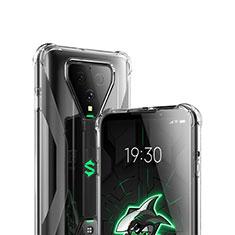 Cover Silicone Trasparente Ultra Sottile Morbida T03 per Xiaomi Black Shark 3 Pro Chiaro