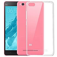 Cover Silicone Trasparente Ultra Sottile Morbida T03 per Xiaomi Mi 4i Chiaro