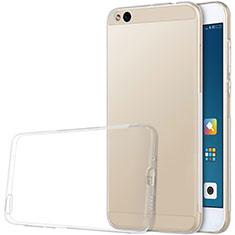 Cover Silicone Trasparente Ultra Sottile Morbida T03 per Xiaomi Mi 5C Chiaro
