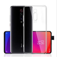 Cover Silicone Trasparente Ultra Sottile Morbida T03 per Xiaomi Mi 9T Chiaro