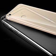 Cover Silicone Trasparente Ultra Sottile Morbida T03 per Xiaomi Mi Max 2 Chiaro