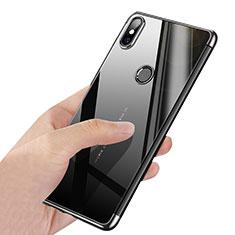 Cover Silicone Trasparente Ultra Sottile Morbida T03 per Xiaomi Mi Mix 2S Argento