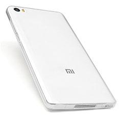 Cover Silicone Trasparente Ultra Sottile Morbida T03 per Xiaomi Mi Note Chiaro