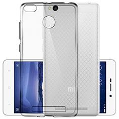 Cover Silicone Trasparente Ultra Sottile Morbida T03 per Xiaomi Redmi 3S Prime Chiaro
