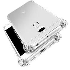 Cover Silicone Trasparente Ultra Sottile Morbida T03 per Xiaomi Redmi Note 4X High Edition Chiaro