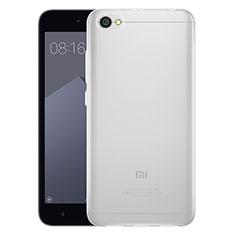 Cover Silicone Trasparente Ultra Sottile Morbida T03 per Xiaomi Redmi Note 5A Standard Edition Chiaro