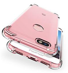 Cover Silicone Trasparente Ultra Sottile Morbida T04 per Huawei Enjoy 7 Chiaro