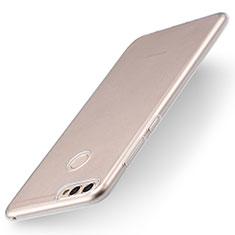 Cover Silicone Trasparente Ultra Sottile Morbida T04 per Huawei Enjoy 7S Chiaro