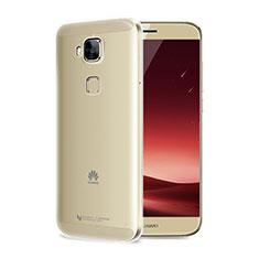 Cover Silicone Trasparente Ultra Sottile Morbida T04 per Huawei G7 Plus Chiaro