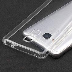 Cover Silicone Trasparente Ultra Sottile Morbida T04 per Huawei GR5 Mini Chiaro