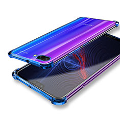 Cover Silicone Trasparente Ultra Sottile Morbida T04 per Huawei Honor 10 Chiaro