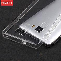 Cover Silicone Trasparente Ultra Sottile Morbida T04 per Huawei Honor 7 Chiaro