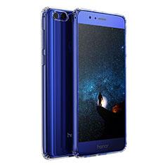 Cover Silicone Trasparente Ultra Sottile Morbida T04 per Huawei Honor 8 Chiaro