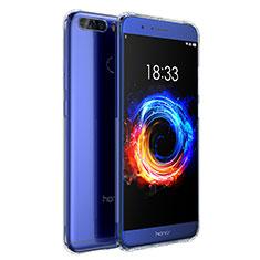 Cover Silicone Trasparente Ultra Sottile Morbida T04 per Huawei Honor V9 Chiaro