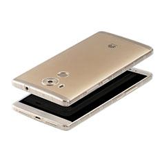 Cover Silicone Trasparente Ultra Sottile Morbida T04 per Huawei Mate 8 Chiaro