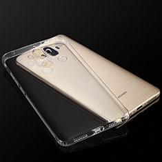Cover Silicone Trasparente Ultra Sottile Morbida T04 per Huawei Mate 9 Chiaro