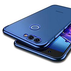 Cover Silicone Trasparente Ultra Sottile Morbida T04 per Huawei Nova 2 Blu