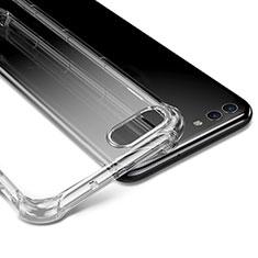 Cover Silicone Trasparente Ultra Sottile Morbida T04 per Huawei Nova 2S Chiaro