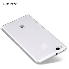 Cover Silicone Trasparente Ultra Sottile Morbida T04 per Huawei P9 Lite Chiaro