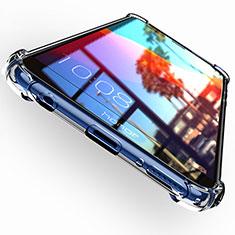 Cover Silicone Trasparente Ultra Sottile Morbida T04 per Huawei Y7 (2018) Chiaro