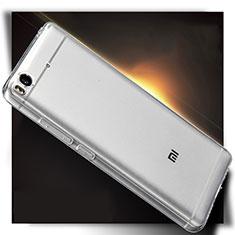 Cover Silicone Trasparente Ultra Sottile Morbida T04 per Xiaomi Mi 5S Chiaro