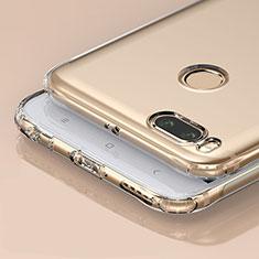 Cover Silicone Trasparente Ultra Sottile Morbida T04 per Xiaomi Mi A1 Chiaro