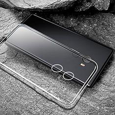 Cover Silicone Trasparente Ultra Sottile Morbida T04 per Xiaomi Mi Mix Evo Chiaro