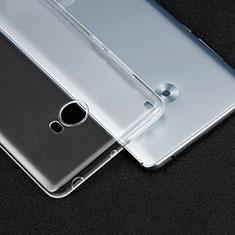 Cover Silicone Trasparente Ultra Sottile Morbida T04 per Xiaomi Mi Note 2 Chiaro