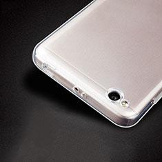 Cover Silicone Trasparente Ultra Sottile Morbida T04 per Xiaomi Redmi 4A Chiaro