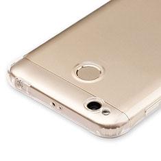 Cover Silicone Trasparente Ultra Sottile Morbida T04 per Xiaomi Redmi 4X Chiaro