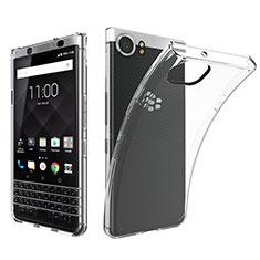 Cover Silicone Trasparente Ultra Sottile Morbida T05 per Blackberry KEYone Chiaro